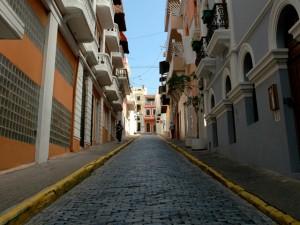 Street in Old San Juan Metro