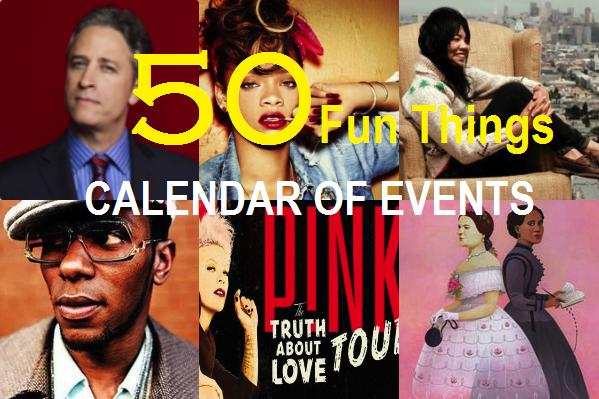March 2013 Calendar of Events Header