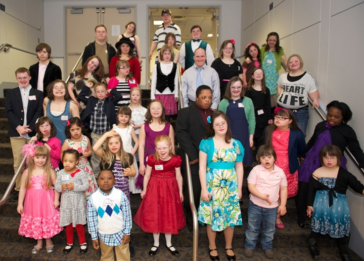 GDSFDown Syndrome Gala Group Shot