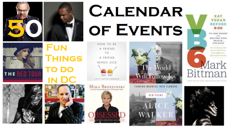 May 2013 Calendar of Events Header 2