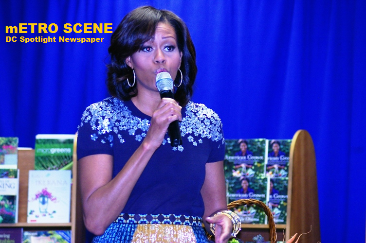 Metro Scene - Michelle Obama Book signing