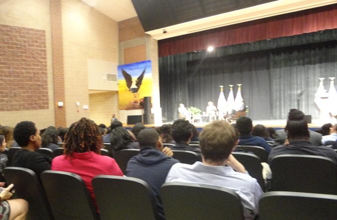 Bell High School Students Nov 2013