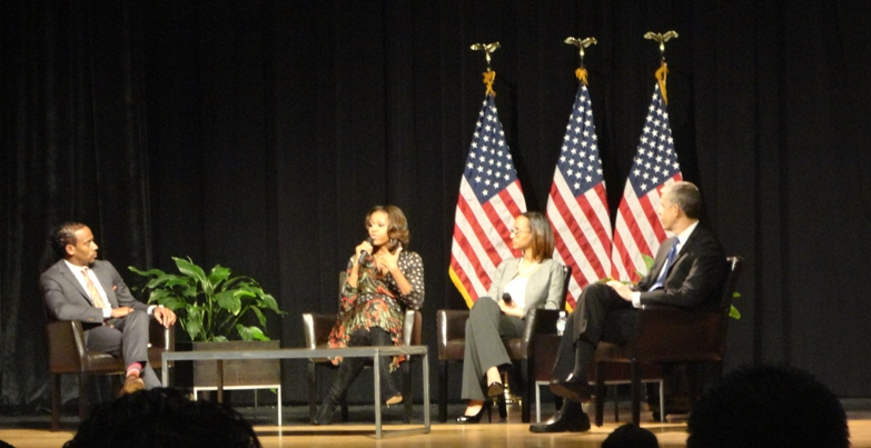 Michelle Obama Bell High Nov 2013