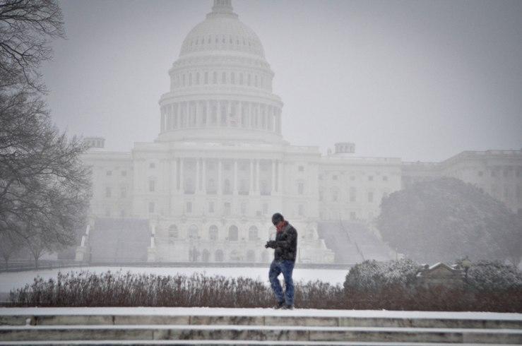 2014 Jan Snow Storm 1