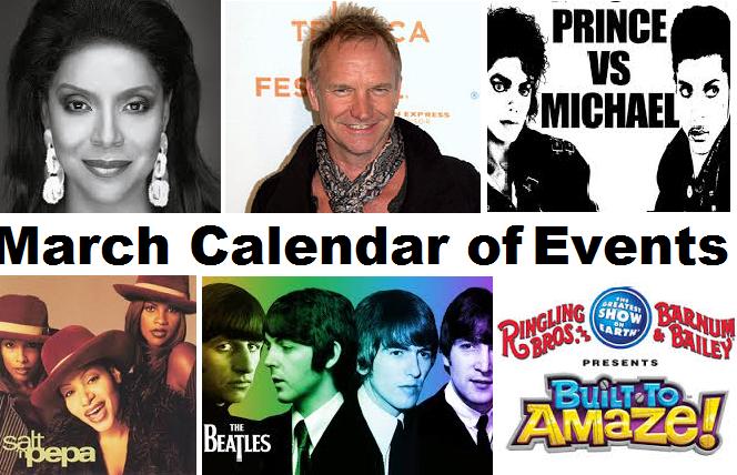Calendar MAR 2014 header