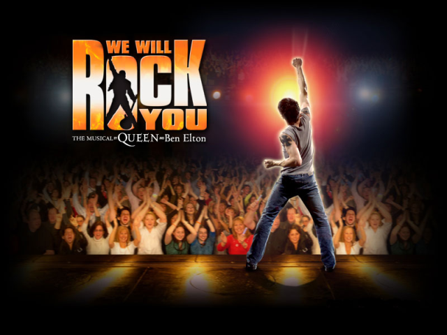 ENTERTAINMENT - We will rock you  - musical poster 2