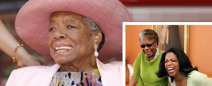 Maya Angelou's remembrance - Oprah Maya Laughing 1