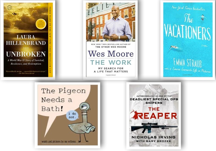 BOOKS LIST FEB 2015
