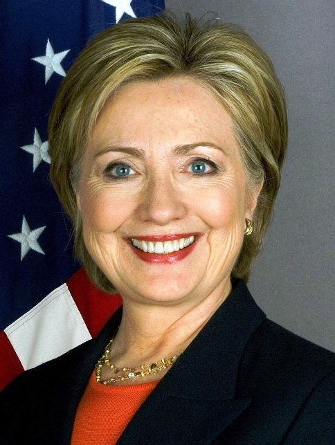 Hillary Clinton - Wiki-commons small
