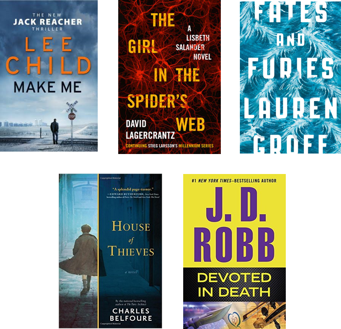 Top 10 Books October 2015