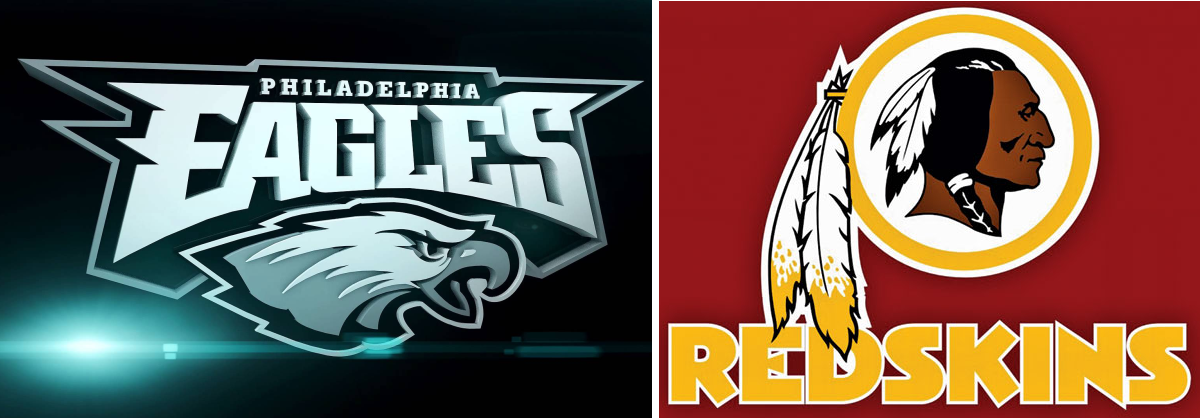 DC SPOTLIGHT - PHOTO Redskins and Philly Eagles