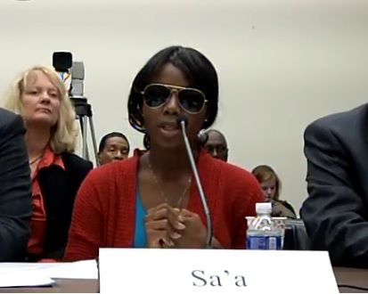 Chris Smith Congressional Hearing - Sa a - escapee from Boko Haram 2