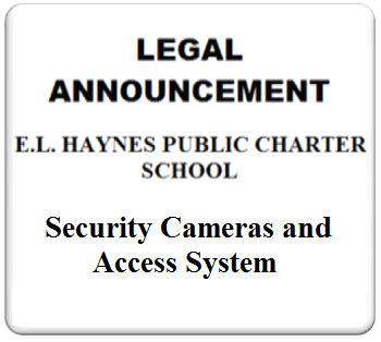 AD ART - E.L.HAYNES444 - 05-26-2017 - Security Cameras and Access System