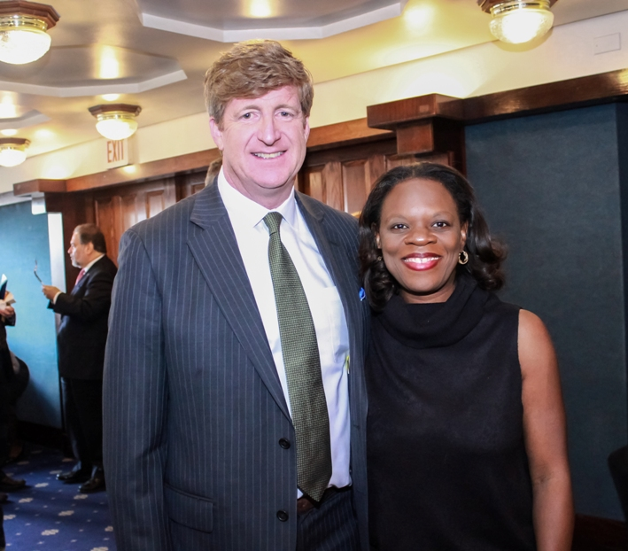 Patrick Kennedy and Wendy