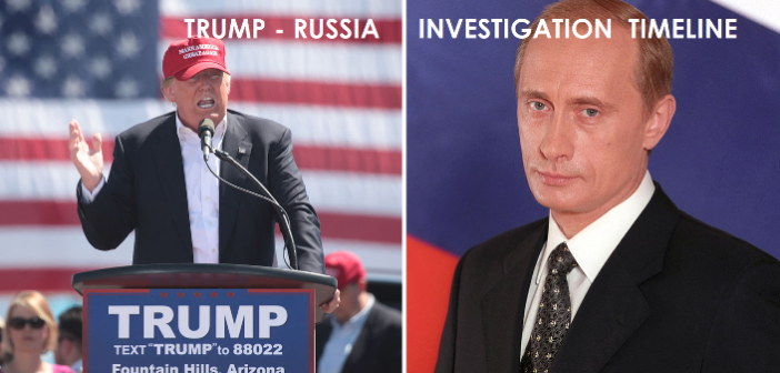 THE WHITE HOUSE – The Donald Trump-Russia Investigation Timeline