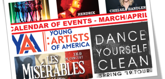 Calendar of Events – March/April 2019 – 40 Fun Things To Do in the D.C. Metro Area